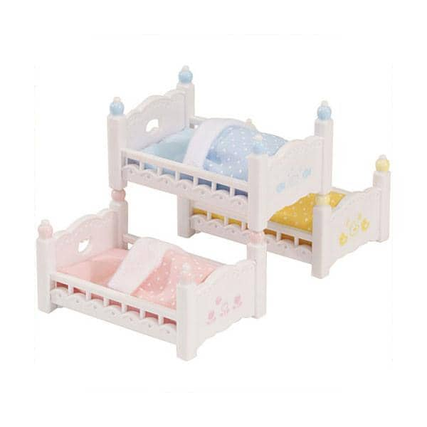 Triple Baby Bunk Beds-Kidding Around NYC