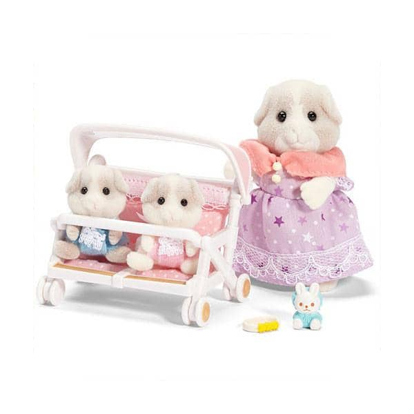 Patty & Paden's Double Stroller Set