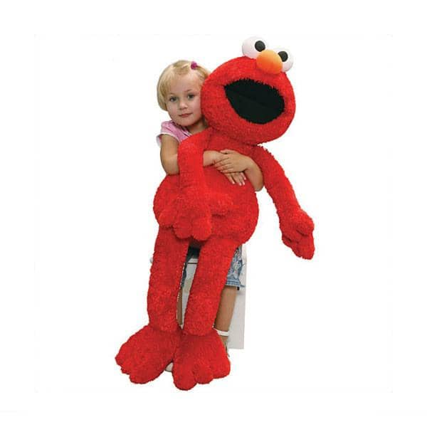 Jumbo Elmo Plush 41 Inches-Kidding Around NYC
