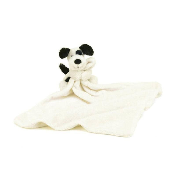 BLACK & CREAM PUPPY SMALL BASHFUL SOOTHER
