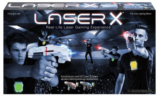Laser X - 2 Player Laser Tag Set-Kidding Around NYC