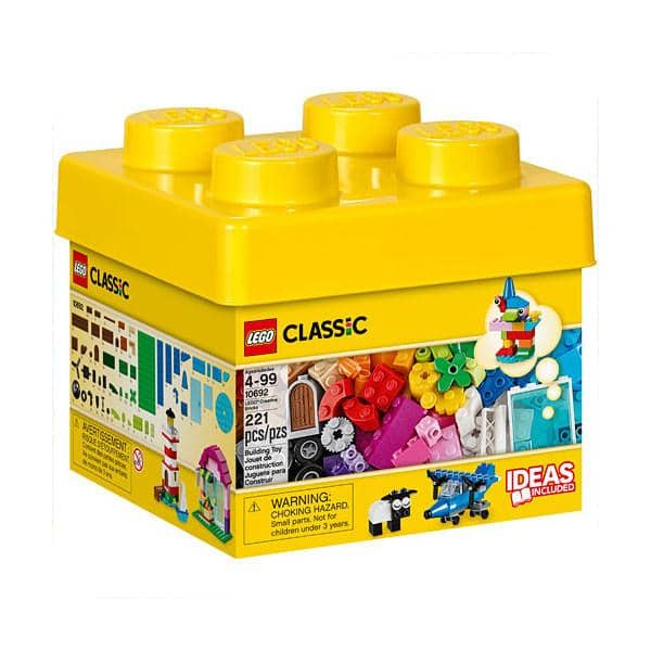 LEGO : Classic: Creative Bricks (221 Pieces)-Kidding Around NYC