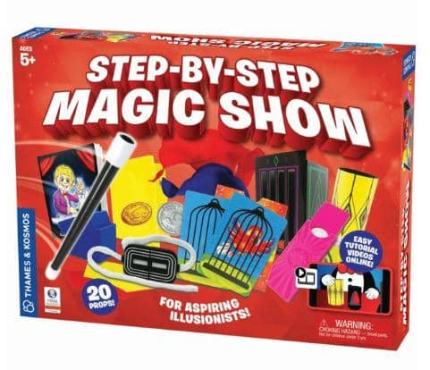 Step By Step Magic Show-Kidding Around NYC
