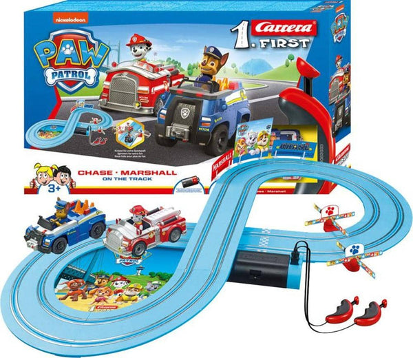 Carrera First Paw Patrol Slot Car Race Track-Kidding Around NYC