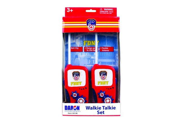 FDNY Walkie Talkie Set