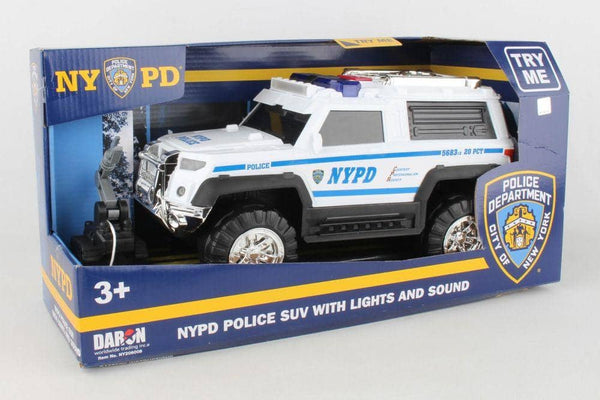 NYPD SUV W/ Lights And Sounds