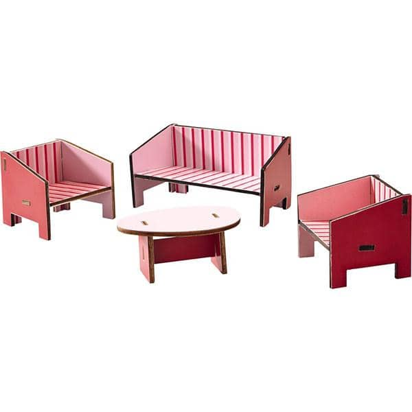Little Friends Dollhouse Parlor Furniture