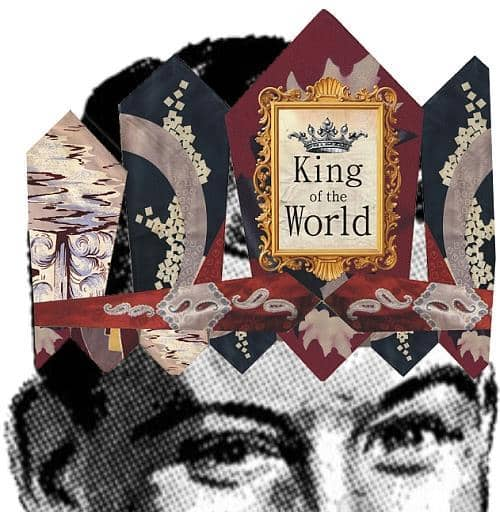 King of The World Crown and Card