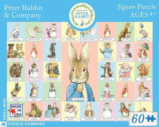 Peter Rabbit And Company Puzzle