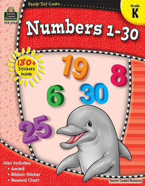 Ready-Set-Learn: Numbers 1 - 30 Kindergarten-Kidding Around NYC