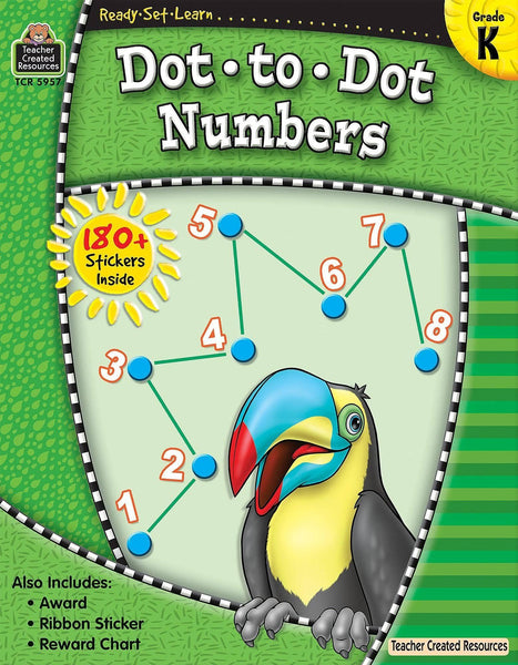 Ready-Set-Learn: Dot To Dot Numbers Kindergarten-Kidding Around NYC