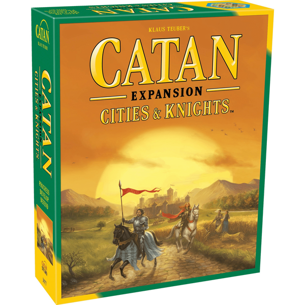 Catan: Cities & Knights Expansion-Kidding Around NYC