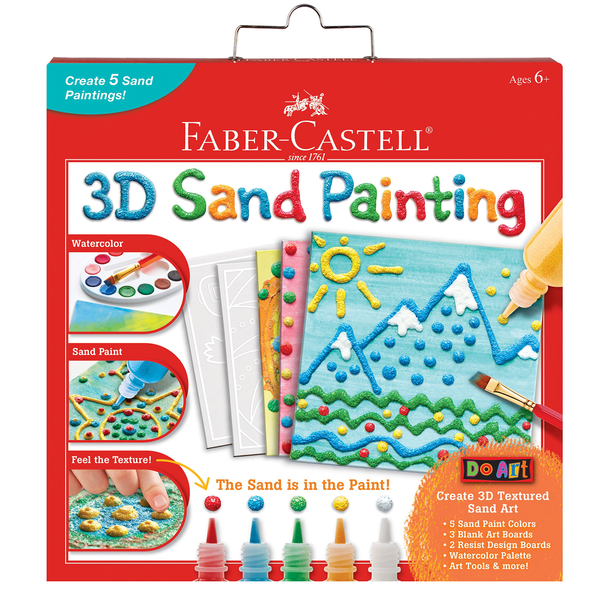 3D Sand Painting-Kidding Around NYC
