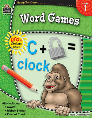 Ready-Set-Learn: Word Games Grade 1-Kidding Around NYC