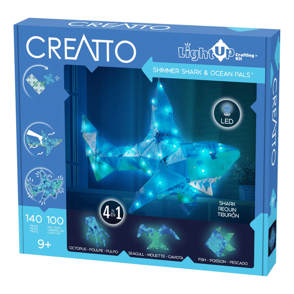 Creatto: Shimmer Shark & Ocean Pals-Kidding Around NYC