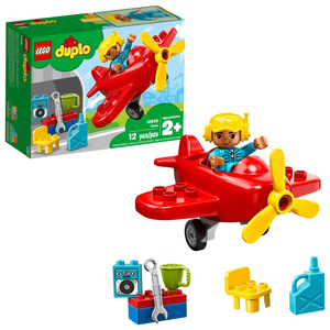 LEGO 10908: DUPLO: Plane (12 Pieces)-Kidding Around NYC