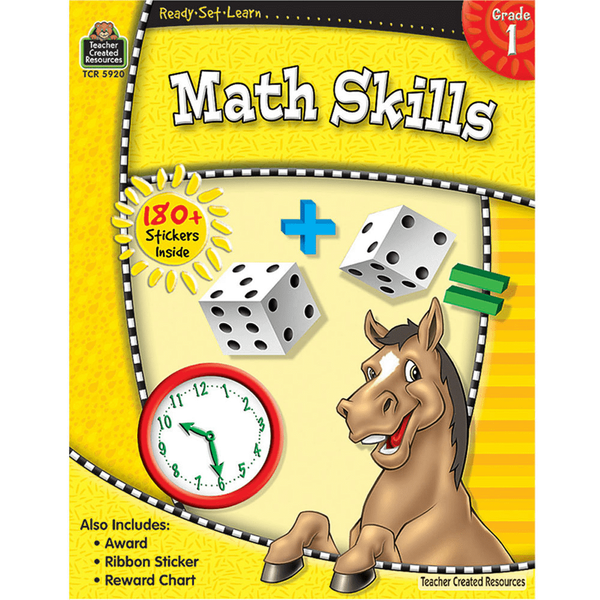 Ready-Set-Learn: Math Skills Grade 1-Kidding Around NYC