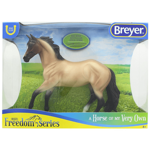 Breyer Freedom Series Bay Roan Australian Stock Horse-Kidding Around NYC