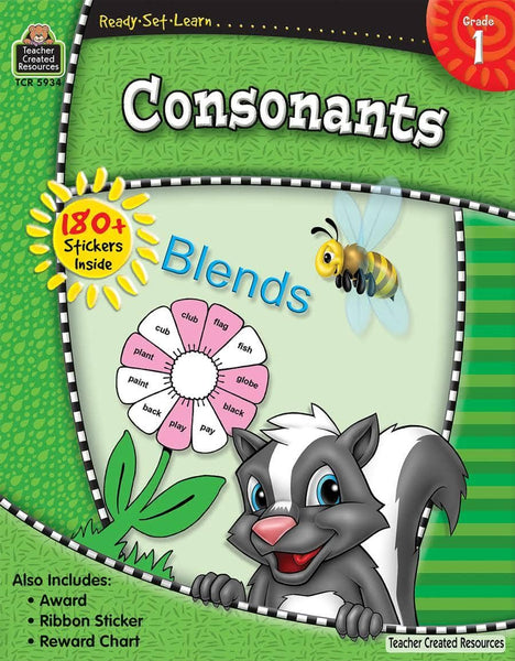 Ready-Set-Learn: Consonants Grade 1-Kidding Around NYC