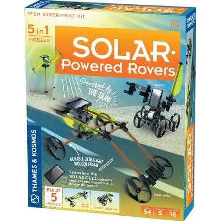 Solar-Powered Rovers