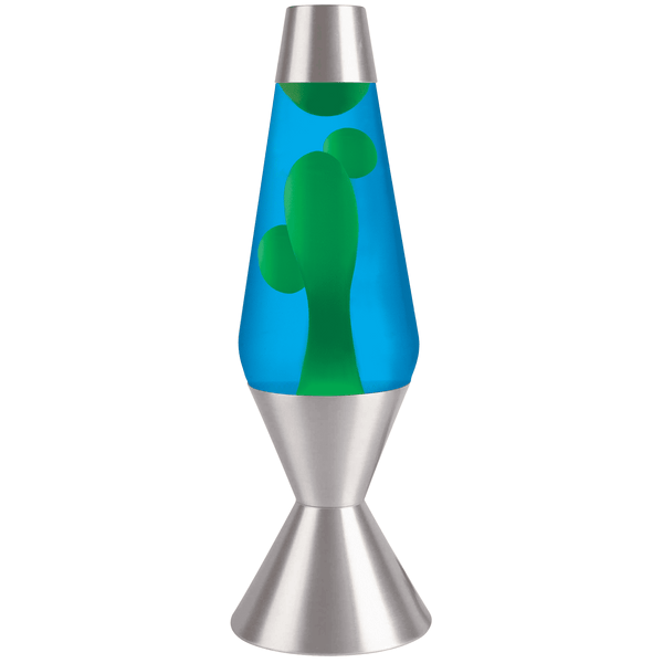 "Blue Lava Lamp (16.3"")-Kidding Around NYC"