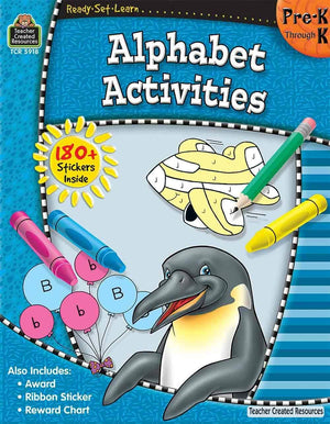 Ready-Set-Learn: Alaphabet Activities Pre-K - Kindergarten-Kidding Around NYC