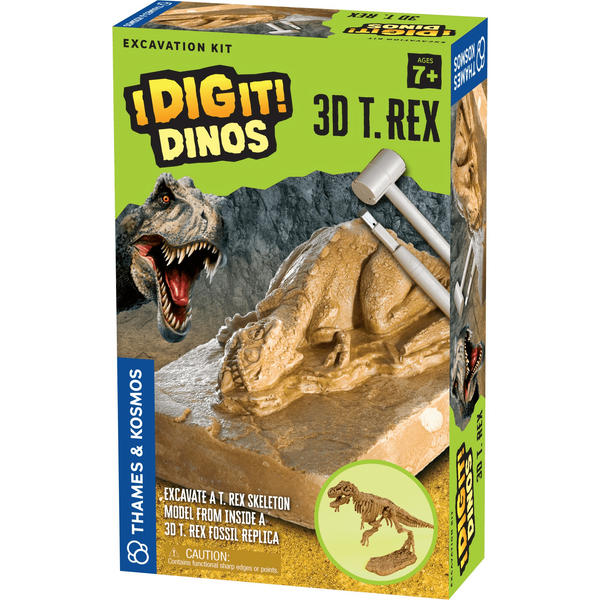 I Dig It!: 3D T. Rex-Kidding Around NYC