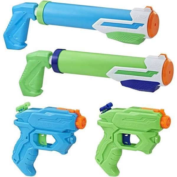 Floodtastic 4 Pack Supersoaker-Kidding Around NYC