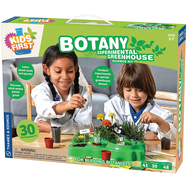 Kids First Botany: Experimental Greenhouse-Kidding Around NYC