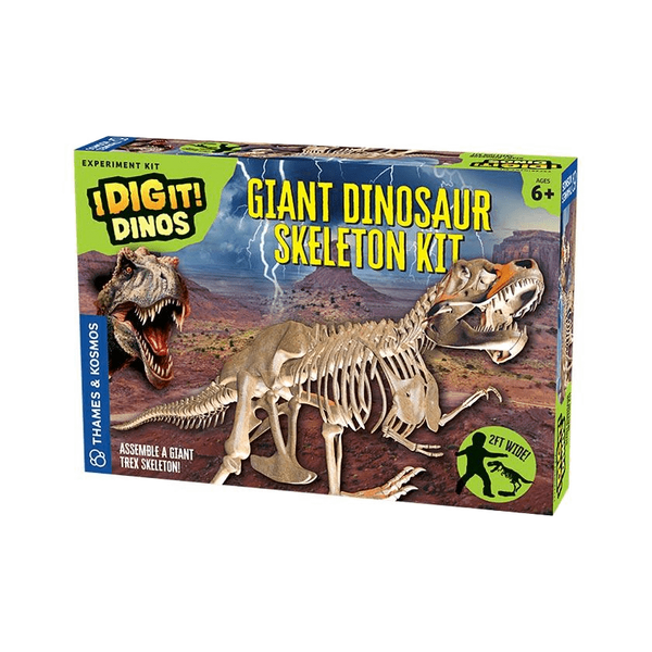 I Dig It!: Giant Dinosaur Skeleton Kit-Kidding Around NYC