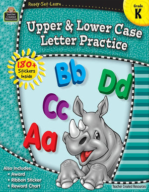 Ready-Set-Learn: Upper And Lower Case Kindergarten-Kidding Around NYC