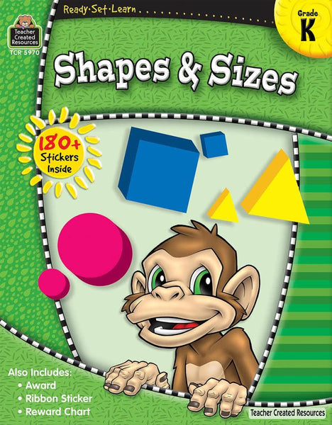 Ready-Set-Learn:  Shapes And Sizes Kindergarten