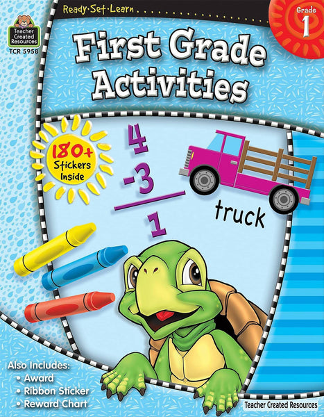 Ready-Set-Learn: First Grade Activities-Kidding Around NYC