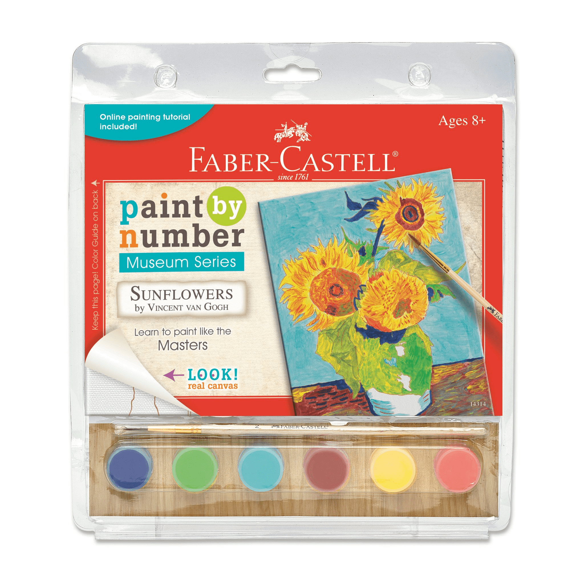 Sunflowers Paint By Number Museum Series-Kidding Around NYC