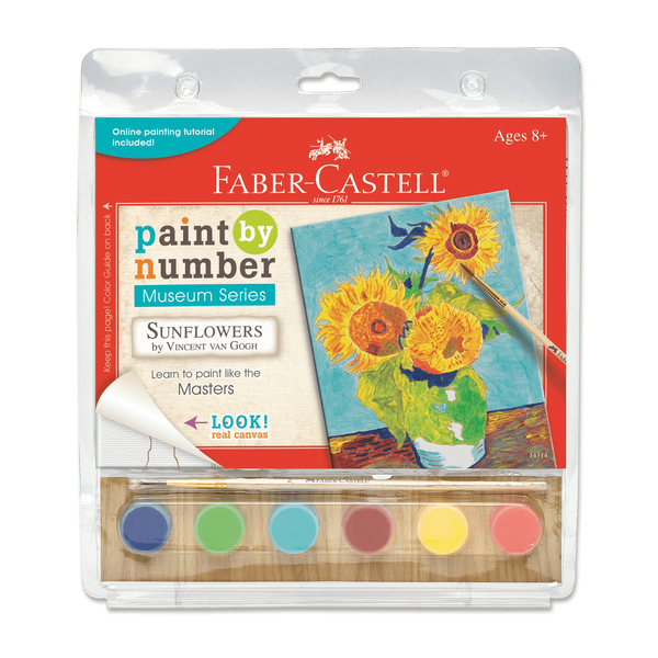 Sunflowers Paint by Number Museum Series