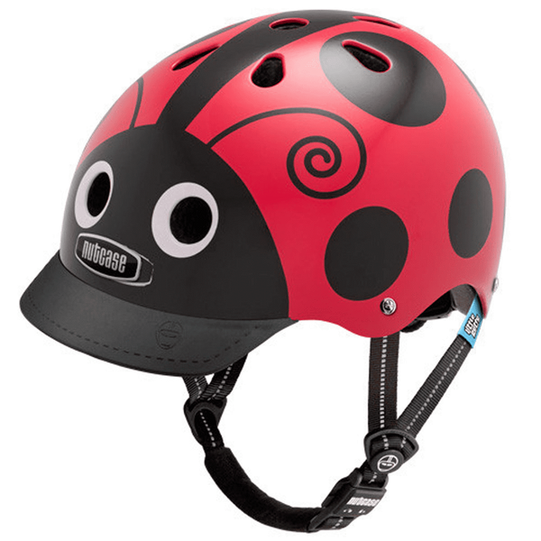 Little Nutty Ladybug Street Helmet XS-Kidding Around NYC