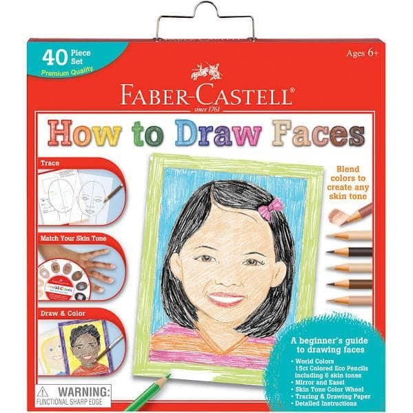 How To Draw Faces-Kidding Around NYC