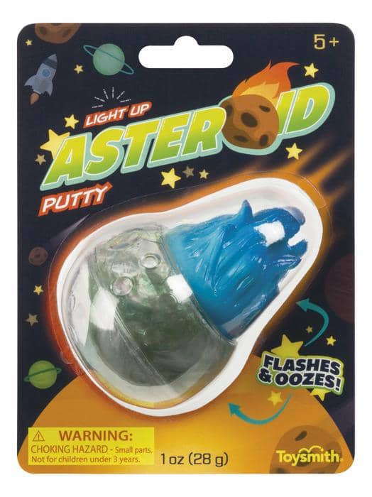 Light Up Asteroid Putty-Kidding Around NYC