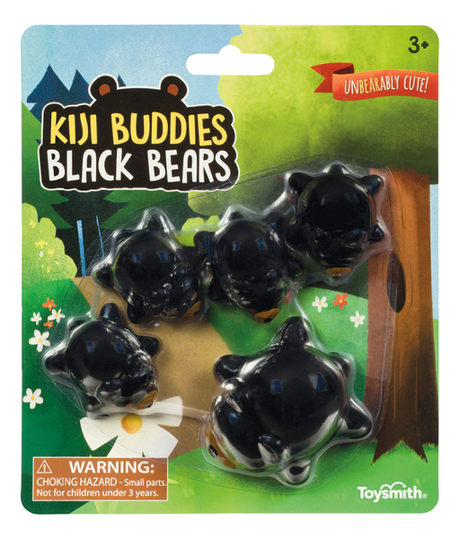 Black Bears Kiji Buddies-Kidding Around NYC