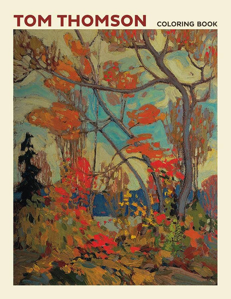 Tom Thomson Coloring Book-Kidding Around NYC