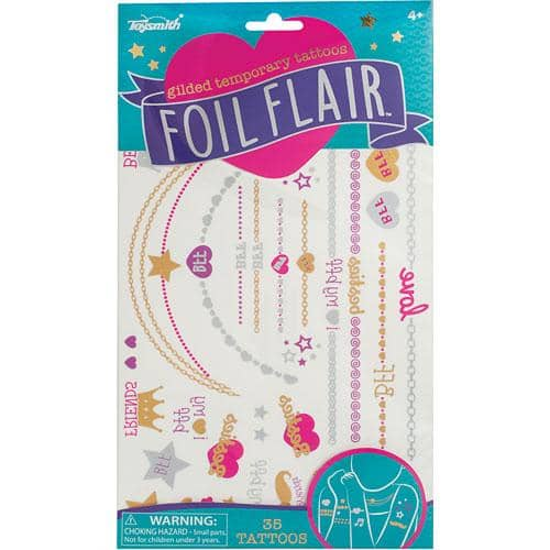 Foil Flair Temporary Tattoos