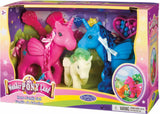 Wonder Pony Land Horse Family Set