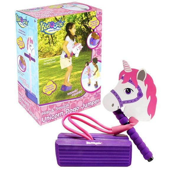 Unicorn Pogo Jumper-Kidding Around NYC