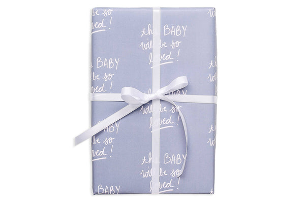 So Loved Baby Gift Wrap Roll-Kidding Around NYC