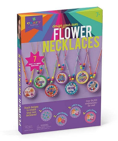 Flower Necklaces Kit-Kidding Around NYC