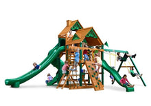 Gorilla Playsets Great Skye 2 w/Standard Wood Roof Swing Set