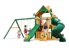 Gorilla Playsets Mountaineer Clubhouse Swing Set