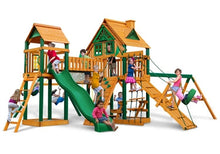 Gorilla Playsets Pioneer Peak Treehouse Swing Set