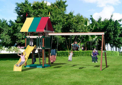 Poly Family Favorite Swing Set