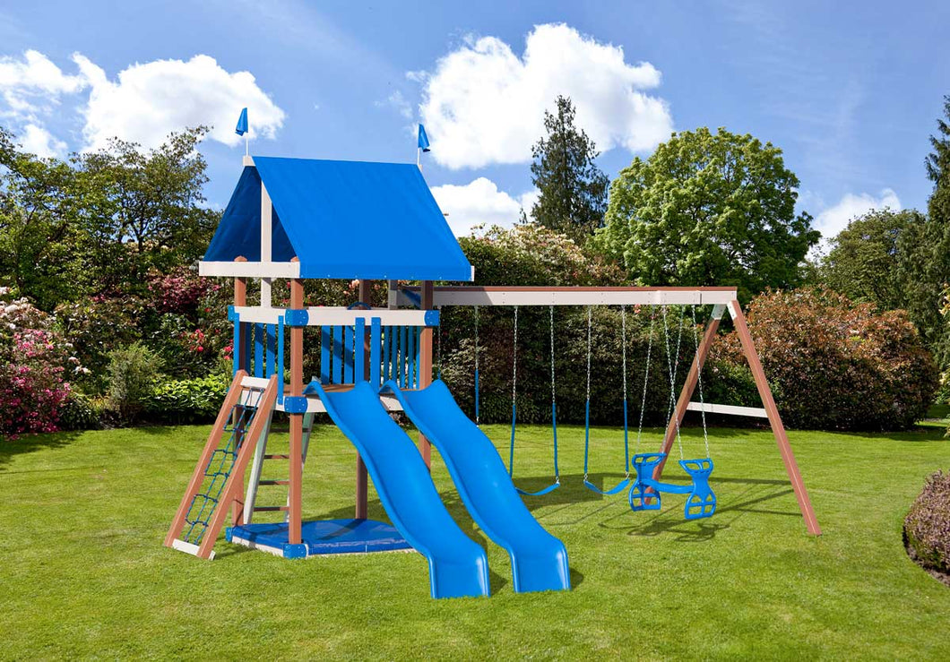 Poly Classic Comfort Swing Set